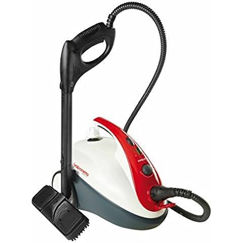 Polti SMART30 R - Limpiador a vapor, 1500 W, color blanco y rojo