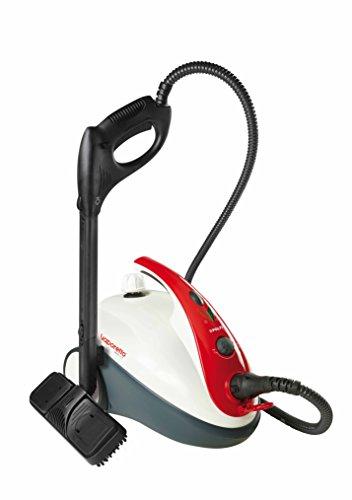Polti SMART30 R – Higienizador a vapor, 1500 W, color blanco y rojo