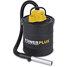 PowerPlus POWX300 - Aspirador de cenizas (20 litros, 1200 W, 240 V)