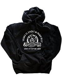 Original Viking-Shirts T-Shirt | Germanenherz- solange es schlägt in meiner Brust werde ich kämpfen für meine Kinder Wikinger | 100 % Baumwolle | bequem & hoher Tragekomfort