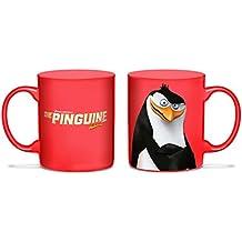 Los pingüinos de Madagascar Taza de café Rico