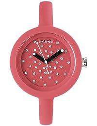 IoIon  PCC-CRL35 - Reloj de cuarzo unisex, con correa de silicona, color rosa