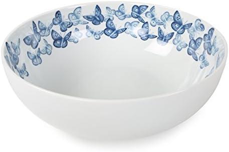 Jersey Pottery Azure ciotola da portata, porcellana, multiColoreeee, 28 x x 28 x x 28 cm edcc45