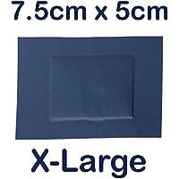 500x Steroplast sterochef steril Catering Kitchen waschfest, Erste Hilfe Pflaster X-Large 7,5cm x 5cm preisvergleich bei billige-tabletten.eu