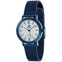 Marea B41188/1 Reloj Mujer Cuarzo Metal IP Azul Tamaño 32 mm Malla Milanesa