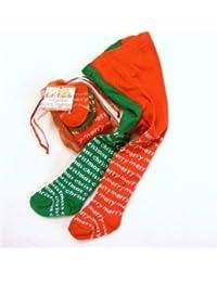 Soft Touch Baby Girls Merry Christmas Odd Leg Tights 0-6 mths
