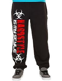 Hardstyle is my style Männer und Herren Jogginghose | Hardcore Musik Techno Gabber Geschenk | M2