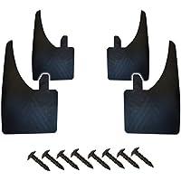 Juego de 4 guardabarros de alta calidad, delanteros y traseros, montaje universal y tornillos