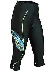 Berkner pour femme avec pantalon 3/4 de cyclisme en silver bion forte composition **