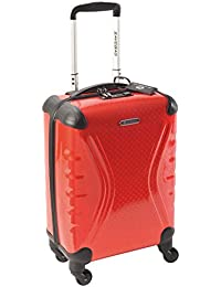 Savebag 18062/48 - Petite Valise TSA 4 Roues 48 Cm - Rouge - Cap: 30 Litres