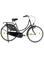 KS Cycling Damen Hollandrad Tussaud 3-Gänge Blütezeit Fahrrad