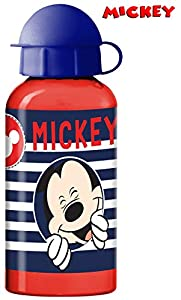 Suncity- Mickey Cantimplora/Botella Metal 17x6 cm, Multicolor (LR0387)