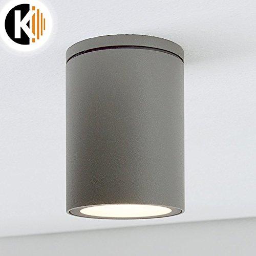 LED Leuchte Deckenleuchte LISA GU10 FASSUNG IP54 Aussenleuchte Außenlampe Deckenstrahler Gartenleuchte Flurleuchte 230V