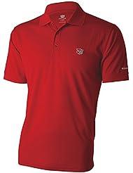Wilson Wilson Staff Authentic Men's Polo Shirt Red Size XXL