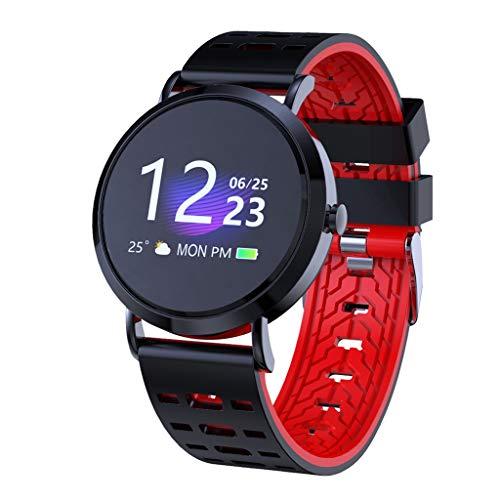Haludock IP67 Wasserdicht Blutdruck Herzfrequenz Schlafüberwachung Sport Smart Watch Bluetooth 5.0 Armband für Android IOS