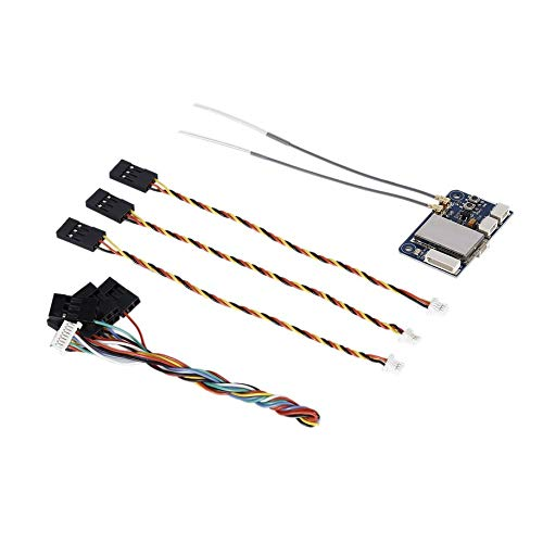 shizhongminghe-FR Batterie d'origine Lipo 4Pcs JJR/C 3.7V 400mAh 30C avec Chargeur 4 en 1 pour Drone quadricoptère JJR/C H31 H98 Gool RC USB Null Noir