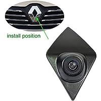 Cámara de vista frontal del coche Logotipo Cámara frontal incorporada para Renault Koleos Renault Kadjar CAPTUR