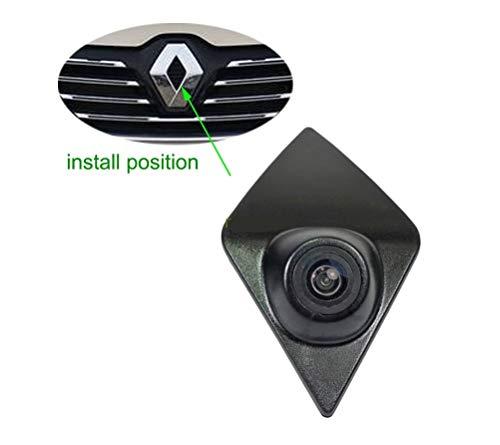 Telecamera Frontale Versione Notturna Impermeabile Macchina fotografica di parcheggio per Renault Koleos Renault Kadjar Captur Espace