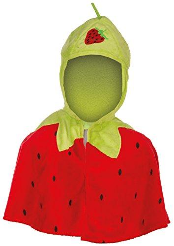 Kinder Erdbeere Kostüm - Heunec 610675 Faschingskostüm, 86-110