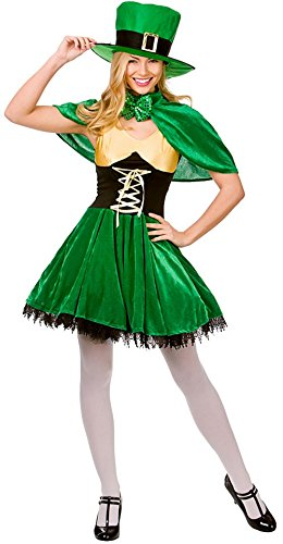 lts Fancy Dress Ladies Outfit Costume (Lady Luck Costume)