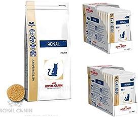 PolBaby Royal Canin Veterinary Diet Feline Renal RF 23 Katzen Trockenfutter 4 kg + 24 x 85g Nass (Chicken)