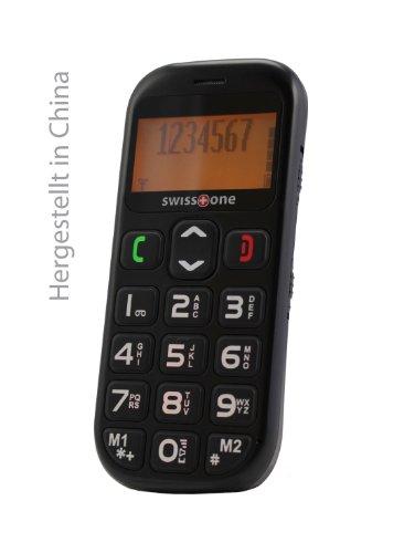 swisstone BBM 320 – Seniorenhandy mit Notruftaste (4,3 cm (1,7 Zoll) Display, 600mAh Akku) schwarz - 6