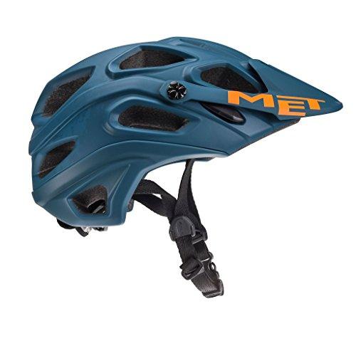 MET Fahrradhelm m3hm104m0bl1, M, Blau, Unisex