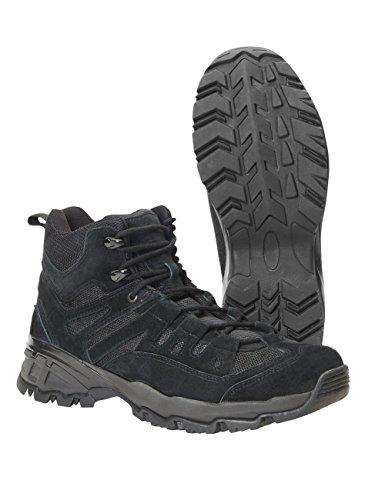 Brandit Mens Shoes Outdoor Trail Mid Noir