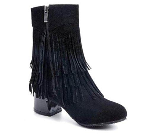 Nappe Stivali Scarpe Da Donna Autunno E Inverno Scarpe Da Donna Brown