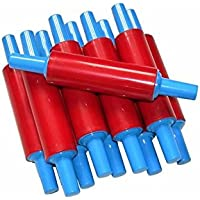 Creation Station CT6366, Children's Plastic Rolling Pins (Pack of 10), 21 cm