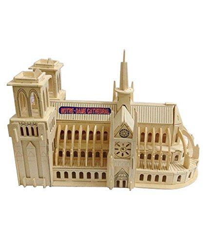 Notre Dame de Paris Dreidimensionale Gebäude Des Manuelle Versammlungs-Modell