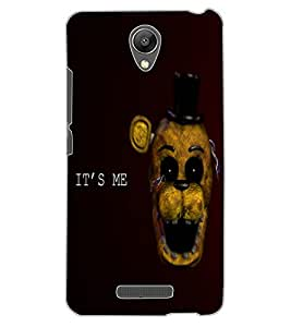 ColourCraft Funny and Scary Monkey Design Back Case Cover for XIAOMI REDMI NOTE 2