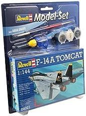 Revell 64021 - Tomcat F-14A Kit di Modellismo in Plastica, Scala 1:144