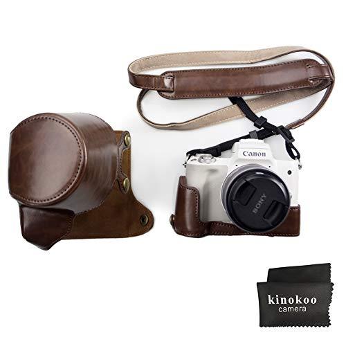94766ca826 Canon EOS M50, custodia completa kinokoo per Canon EOS M50 e obiettivo  15-45mm