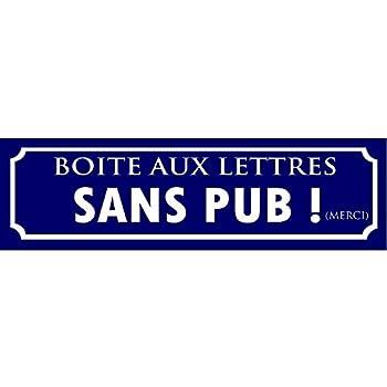 f3d5f971fcf07 Set 4x autocollant sticker boite aux a lettre pas de pub stop ...