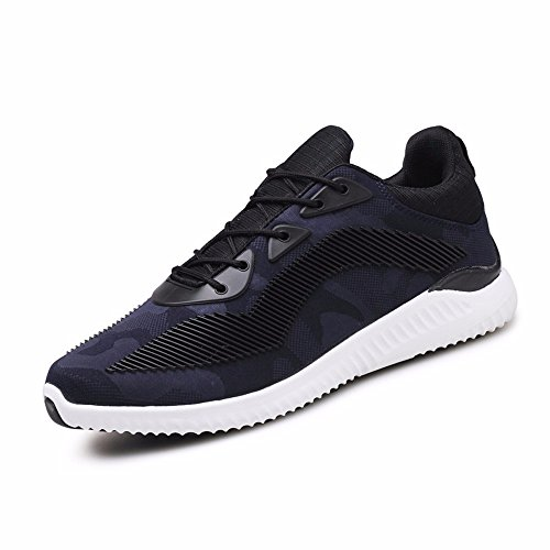 Sports Casual Chaussures Printemps Sport Casual Chaussures Mode Version Coréenne De Mens Chaussures Chaussures Bleu Carte