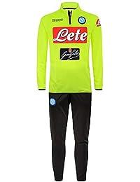 2018-2019 Napoli Presentation Tracksuit (Yellow) 349d1c82e0563