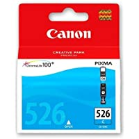 Canon Pixma MG5350 Cyan Original Ink Cartridge 526