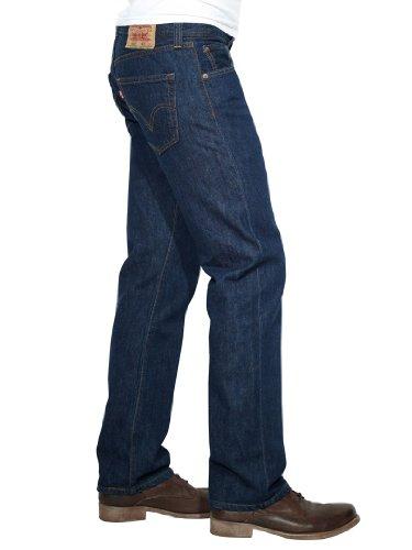 Levi's Herren Jeans 501 Original Straight Fit Blau (Stonewash 0114)