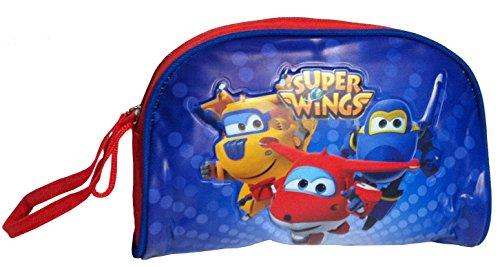 Preisvergleich Produktbild Super Wings Jett Kulturtasche Kulturbeutel Kinder Waschtasche Beauty Bag
