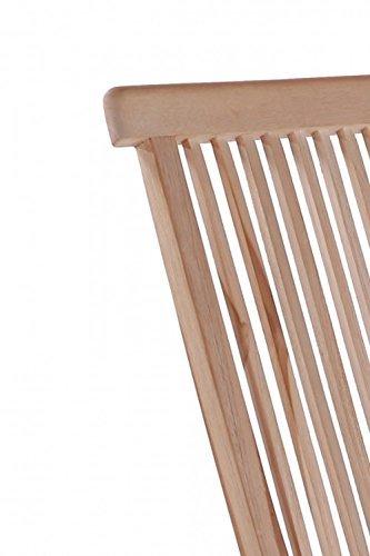 SAM® SAM® Sparset: 2 x Teak-Holz Klappstuhl, Gartenstuhl Menorca, zusammenklappbarer Hochlehner aus Massivholz, leicht zu Verstauen, ideal für Balkon, Terrasse oder Garten [53263248]