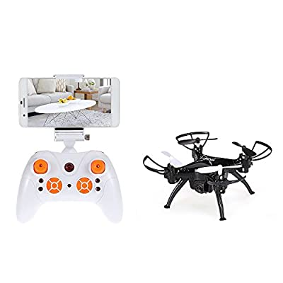 GoolRC Wifi FPV 0.3MP Camera Drone G-sensor Altitude Hold RC RTF Quadcopter RC Selfie Mini Quadcopter with One Key Return and Headless Mode