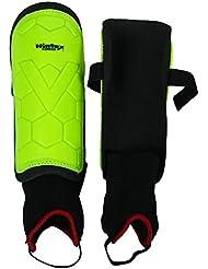 Manchon Wintex Shin Garde Léger Poids Vert Hockey Pvc Incassable Coquille Cheville