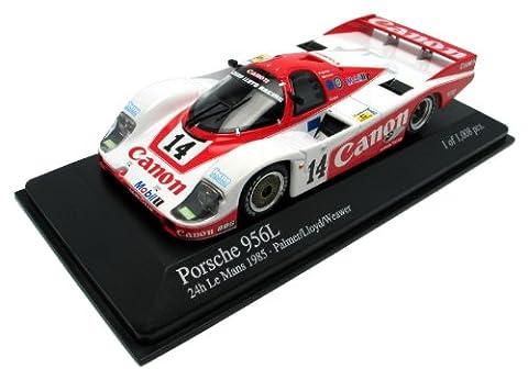 Minichamps - 430856514 - Véhicule Miniature - Porsche 956 L Canon - LM 1985 - Echelle 1/43