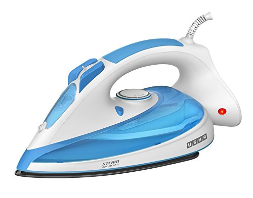 Usha Steam Pro SI 3417 1700-Watt Steam Iron (Ice Blue)
