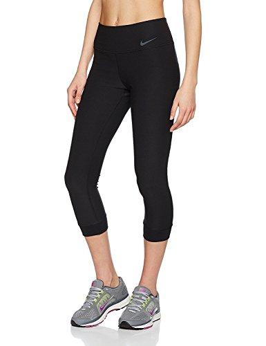 Nike Damen Power Legend Caprihose, Black/Cool Grey, L (Coole Nike Leggings Für Frauen)