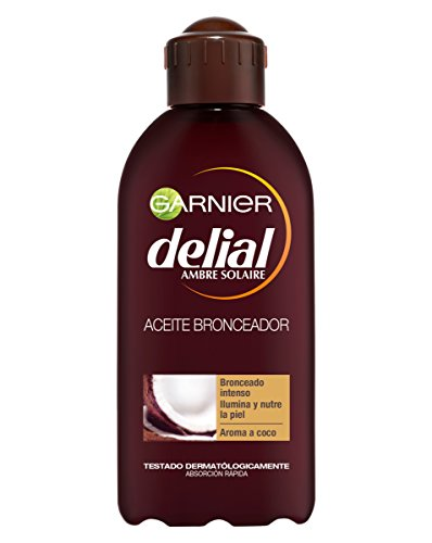 Garnier Delial Intense Bronzing Oil Nourishing Hydrating with Coconut Aroma - 200 ml