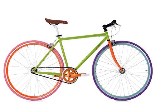 """KS Cycling Fixie Fitnessbike 28\"""" Essence grün RH47cm"""