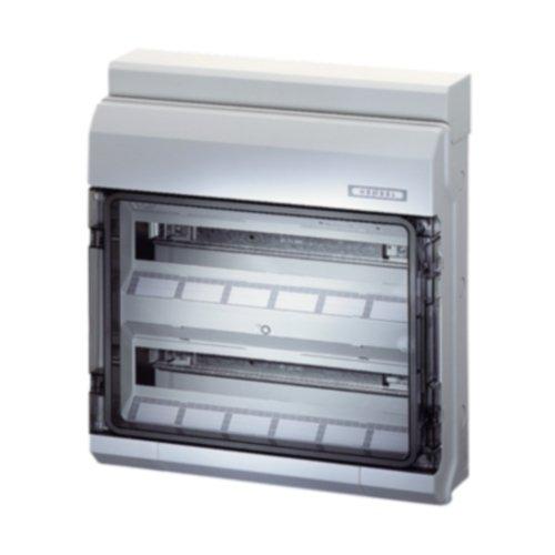 Hensel Automatengehäuse KV 9236 36TE 2x18x18mm IP65 KV-Automatengehäuse Installationskleinverteiler 4012591620037