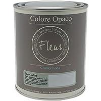Fleur Paint 13401 - Pintura mineral (base agua, 750 ml) color snow white